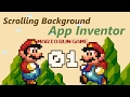 Mario run Game for App Inventor | Scrolling background part 01