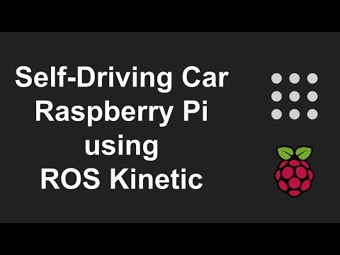 Self-Driving Car with ROS and OpenCV using Raspberry Pi