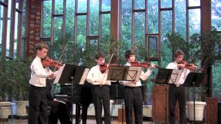 Vivaldi Concerto for four violins in B Minor