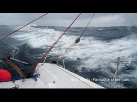 Sailing Pogo, English Channel