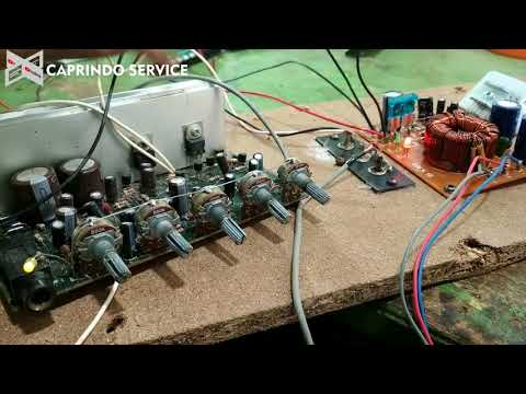 Cara Pasang Modul Inverter + Pasang Modul Mp3 Di Speaker Aktif