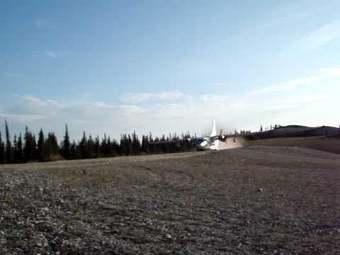 C-123 Alaska take off