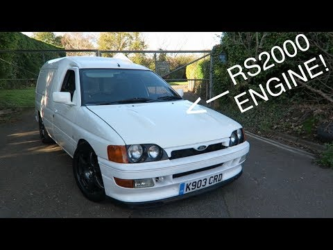 CRAZY RS2000 ENGINED ESCORT VAN REVIEW!!!