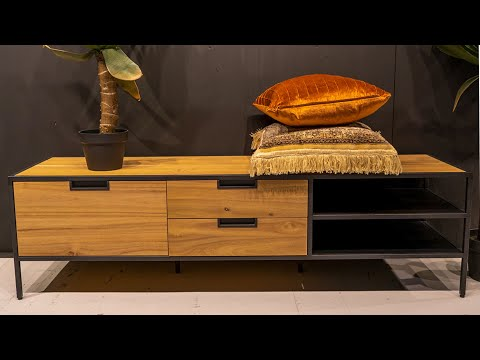 Tv-meubel Madison Light acaciahout 160 cm