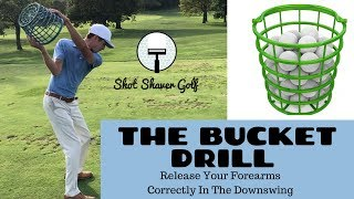 Fix Your Release In The Golf Swing - The Bucket Drill