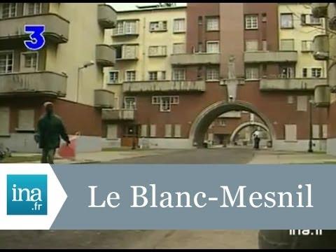 Le Blanc Mesnil, une cité classée monument historique - Archive INA