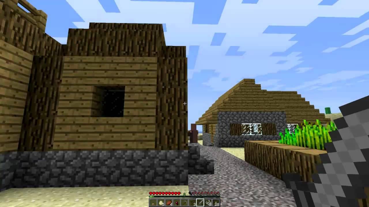 Minecraft  Let U0026 39 S Play Ep  2 - Squidward Villagers