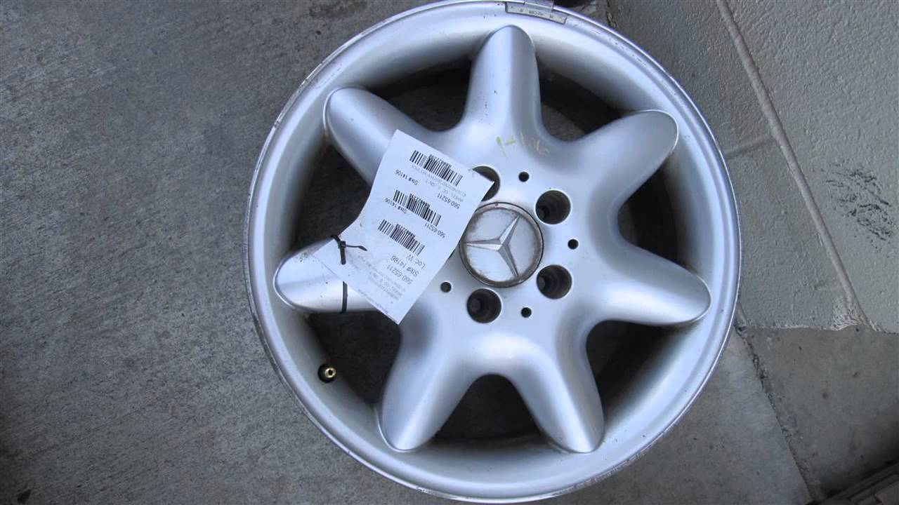 2003 mercedes c240 wheels rim id 2034010302 203type see for Mercedes benz c240 rims