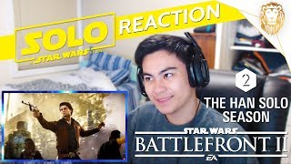 Star Wars Battlefront 2 The Han Solo Season 2 Trailer (Official) - REACTION!!!