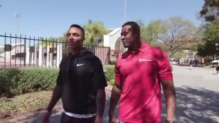 Tour USC with former Trojans Willie McGinest & Su'a Cravens #FightOn | NFL