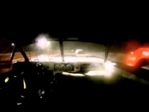 Ronnie Newsome Waycross Motor Speedway Hobby Stock Feature Race Go Pro 1-10-15