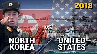 North Korea vs United States - Military Power Comparison 2018