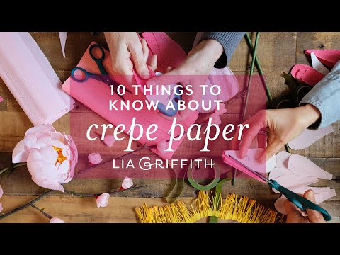 10 Amazing Facts You'll Want to Know About Crepe Paper