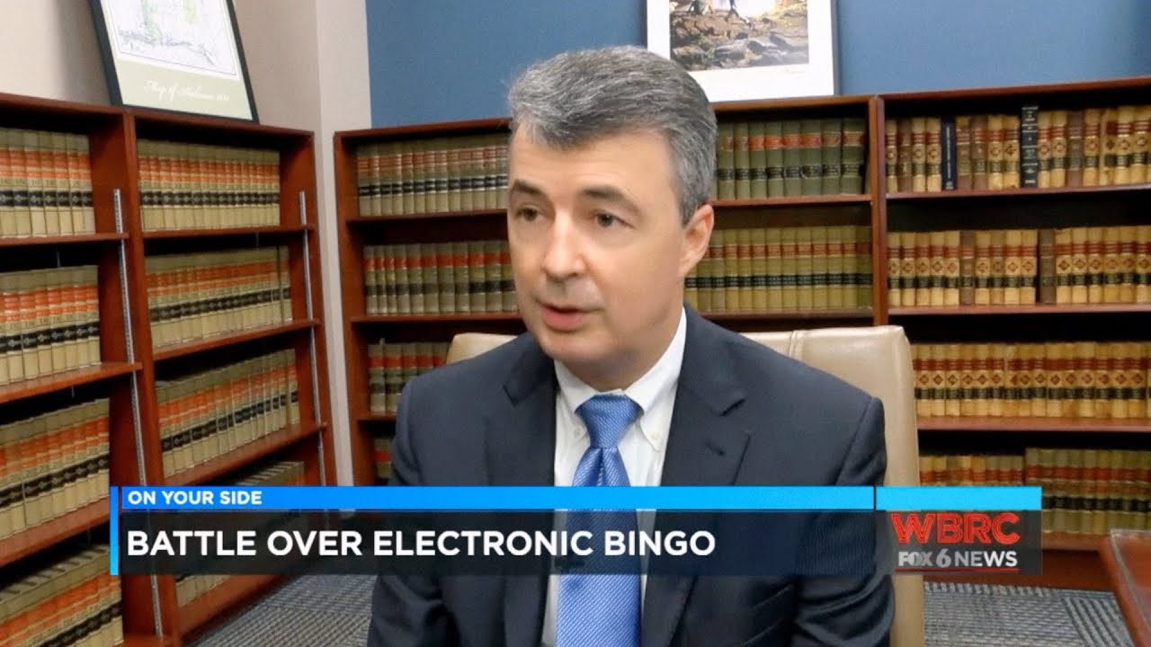 "WBRC FOX6 News Report on the Battle Over Illegal ""Bingo"" Halls in Jefferson  County, Ala"