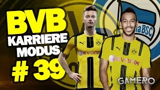 FIFA 17 KARRIEREMODUS BVB #39 ♕ BUNDESLIGA Gegen HERTHA BSC BERLIN ♕FIFA 17 Karrieremodus German