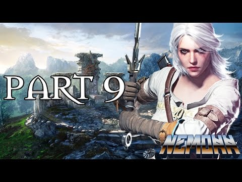 The Witcher 3: Walkthrough Gameplay Part #9 -  Ciri and The Wolf King!  (The Witcher 3 Wild Hunt)