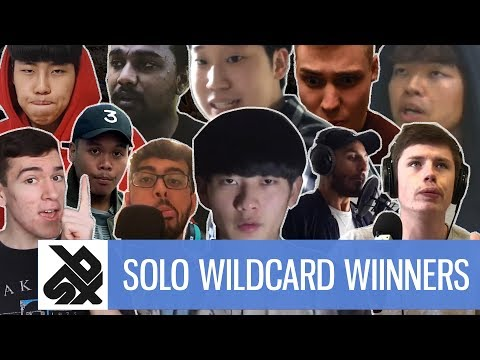 GBBB 2018  | SOLO Wildcard Winners