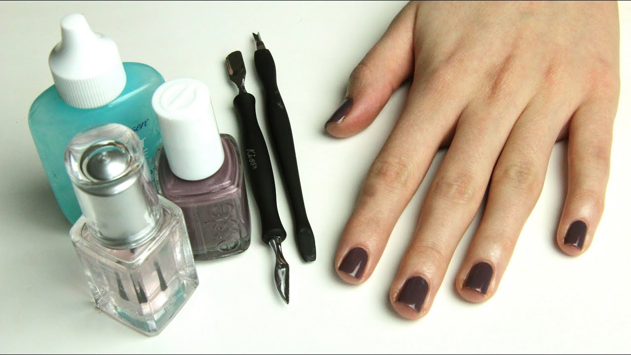 How to diy manicure