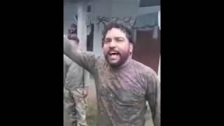 Indian Army Sing Punjabi Song ॥ Iko Thaali Vich Roti Khaya Krage Jatt Nu Retire Ho Lain De