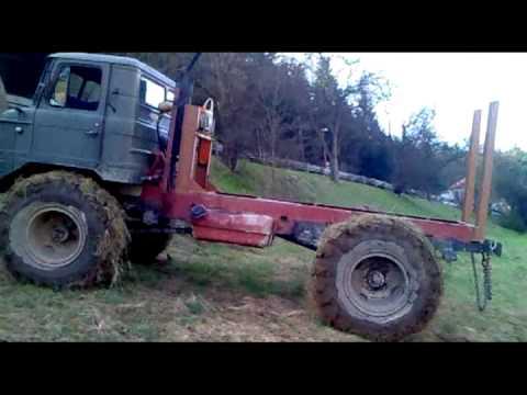 волга с двигателем от газ 53 видео