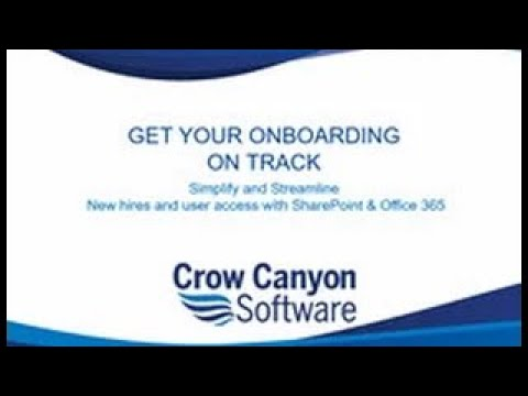 Onboarding With SharePoint & Office 365
