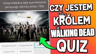 Rozwiązuje NAJTRUDNIEJSZY QUIZ z The Walking Dead!