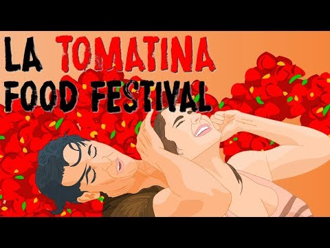 Visiting Spain; travel to Valencia's La Tomatina; the messiest food festival in the world.