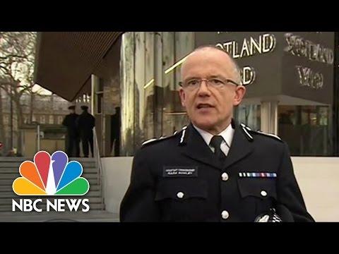 Police: 4 Dead, 20 Injured In Terror Attack Near UK Parliament, Investigation Underway   NBC News