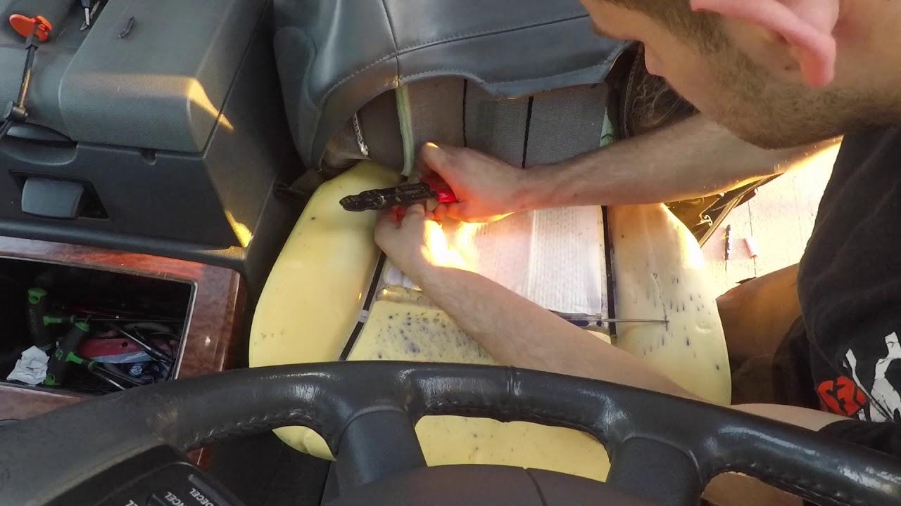 Dodge Ram Seat Heater Fix Youtube