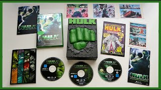 HULK - LIMITED 3-DISC DVD BOX SET + COMIC UNBOXING(, 2015-04-19T18:08:10.000Z)