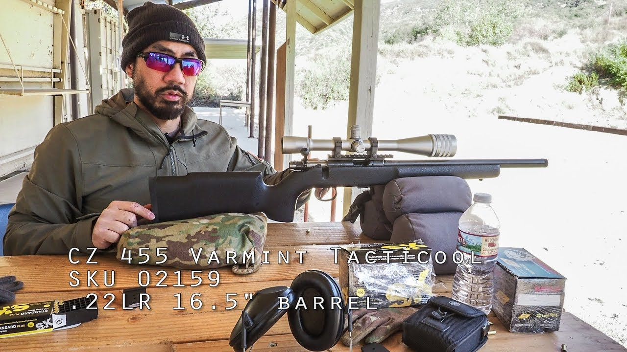 Show and Tell: CZ / CZ-USA 455 Varmint Tacticool Suppressor-Ready