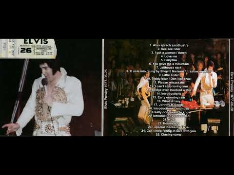 ELVIS PRESLEY live in Indianapolis, IN, 26.06.1977