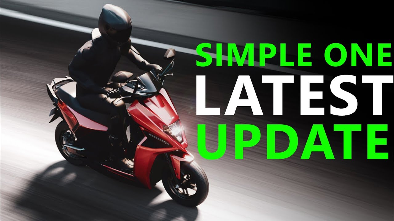 Simple One Electric Scooter Latest Update - Features & Launch