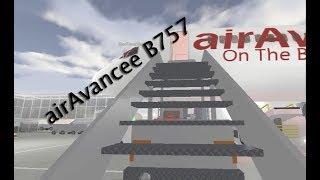 airAvancee Boeing 757 Inaugural Flight [ROBLOX]
