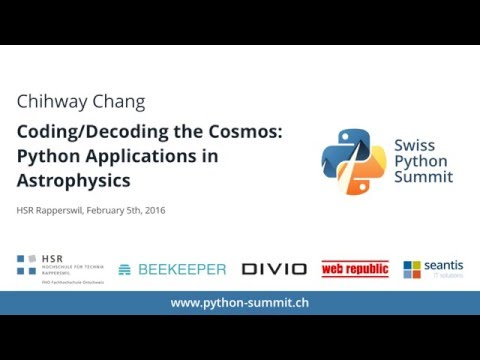 Image from Chihway Chang – Coding/Decoding the Cosmos – SPS16