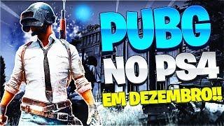 CONFIRMADO PUBG NO PS4!!! NOVOS EXCLUSIVOS PS4 Chegando E JOGO GRATIS PSVR