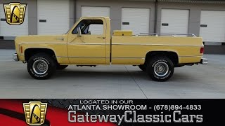 1979 Chevy K10 Bonanza 4x4 - Gateway Classic Cars of Atlanta #81