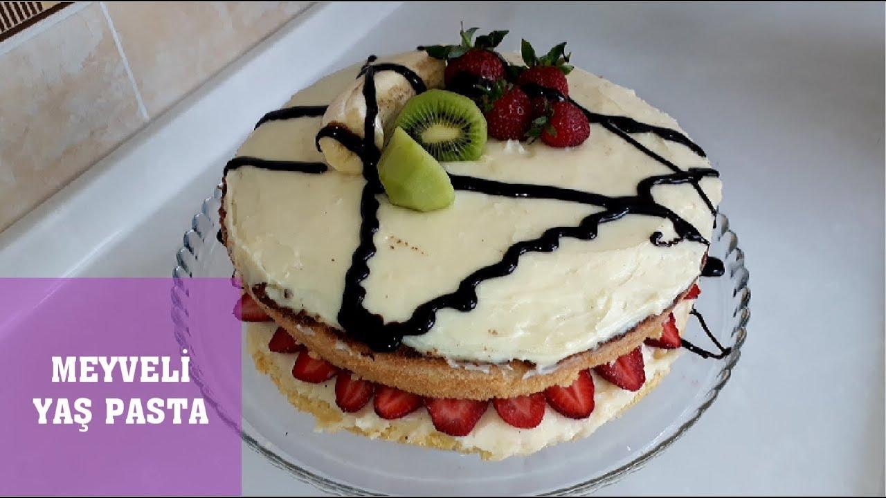 Meyveli Pasta Tarifini Denediniz Mi