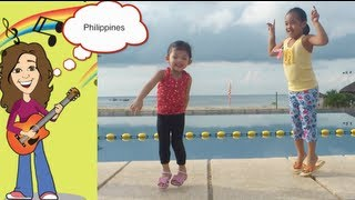 Jump! Children worldwide jumping to Patty Shukla