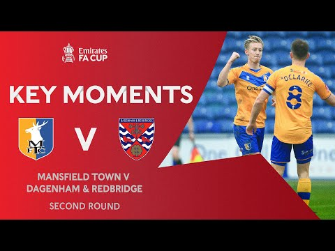 Mansfield Dagenham & Red. Goals And Highlights