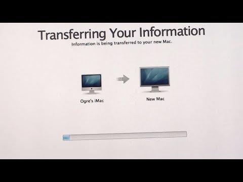 A Standard Mac Data Transfer