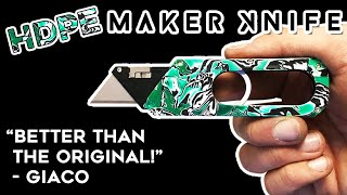 Customising Giaco's Maker Knife || Quick Cuts