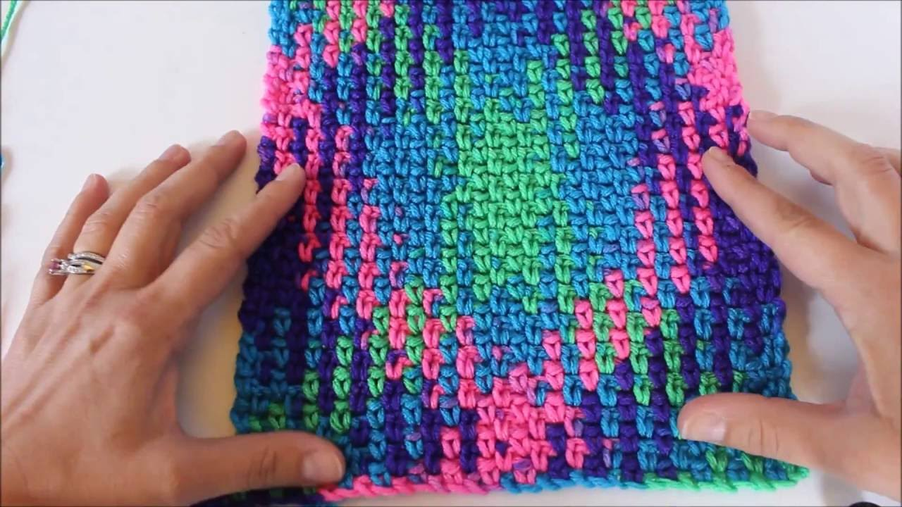 Planned Pooling with Crochet Made Easy - 4 Simple Steps - YouTube