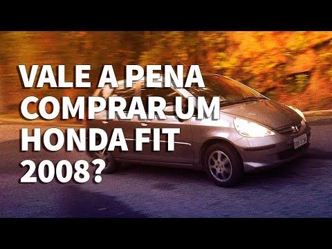 Vale a pena comprar um Honda Fit 2008?