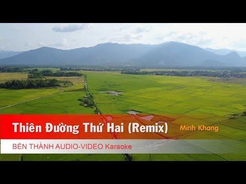 KARAOKE | Thiên Đường Thứ Hai (Remix) - St. Minh Khang | Beat Chuẩn