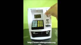 Celengan ATM | Menabung uang Kertas/Koin
