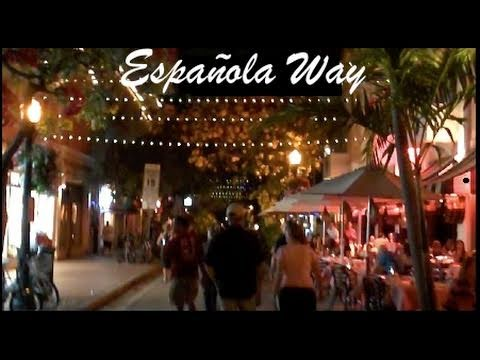 Espanola Way Miami Beach Florida