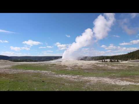 Old Faithful Geyser ( Yellowstone National Park )