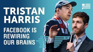 Tristan Harris: How Facebook opened Pandora's box | Andrew Yang | Yang Speaks