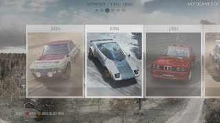 DiRT Rally - Full Car List